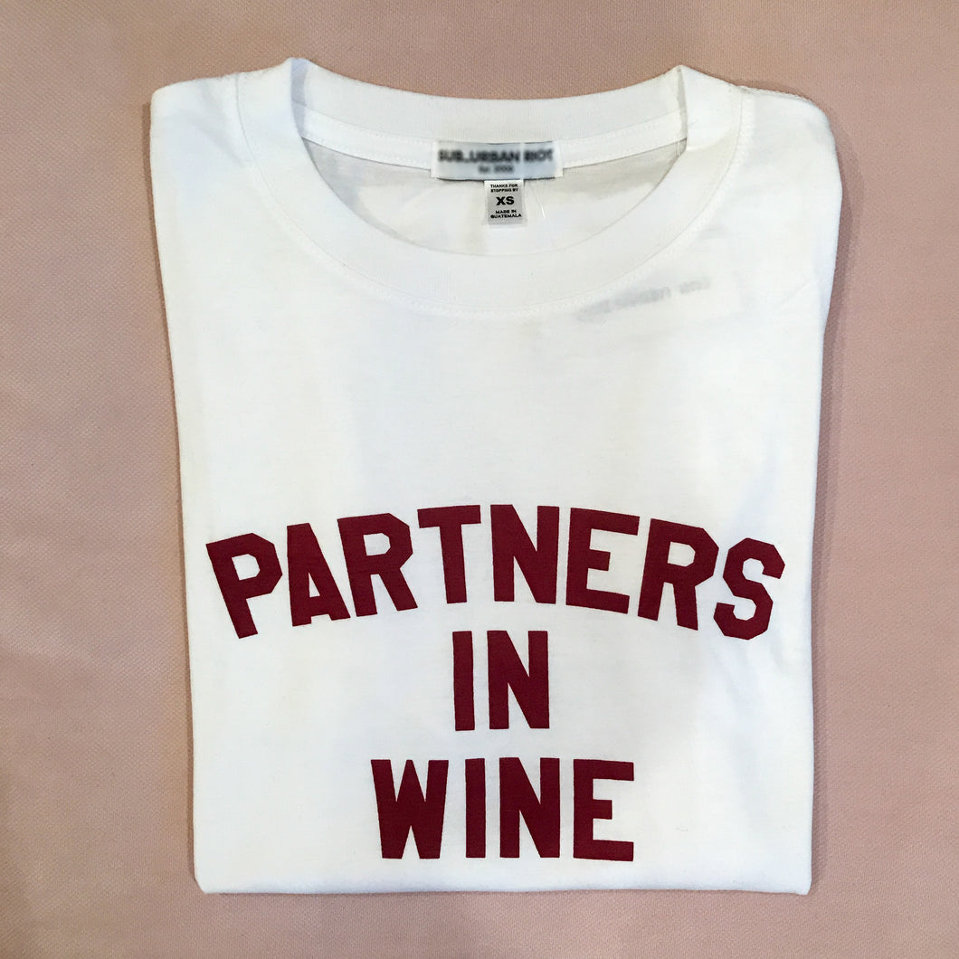 Partners In Wine Tee