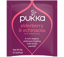 Pukka Elderberry & Echinacea Tea 20 Bag