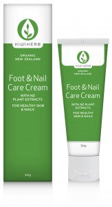 KIWI HERB Foot & Nail Care Cr 50g