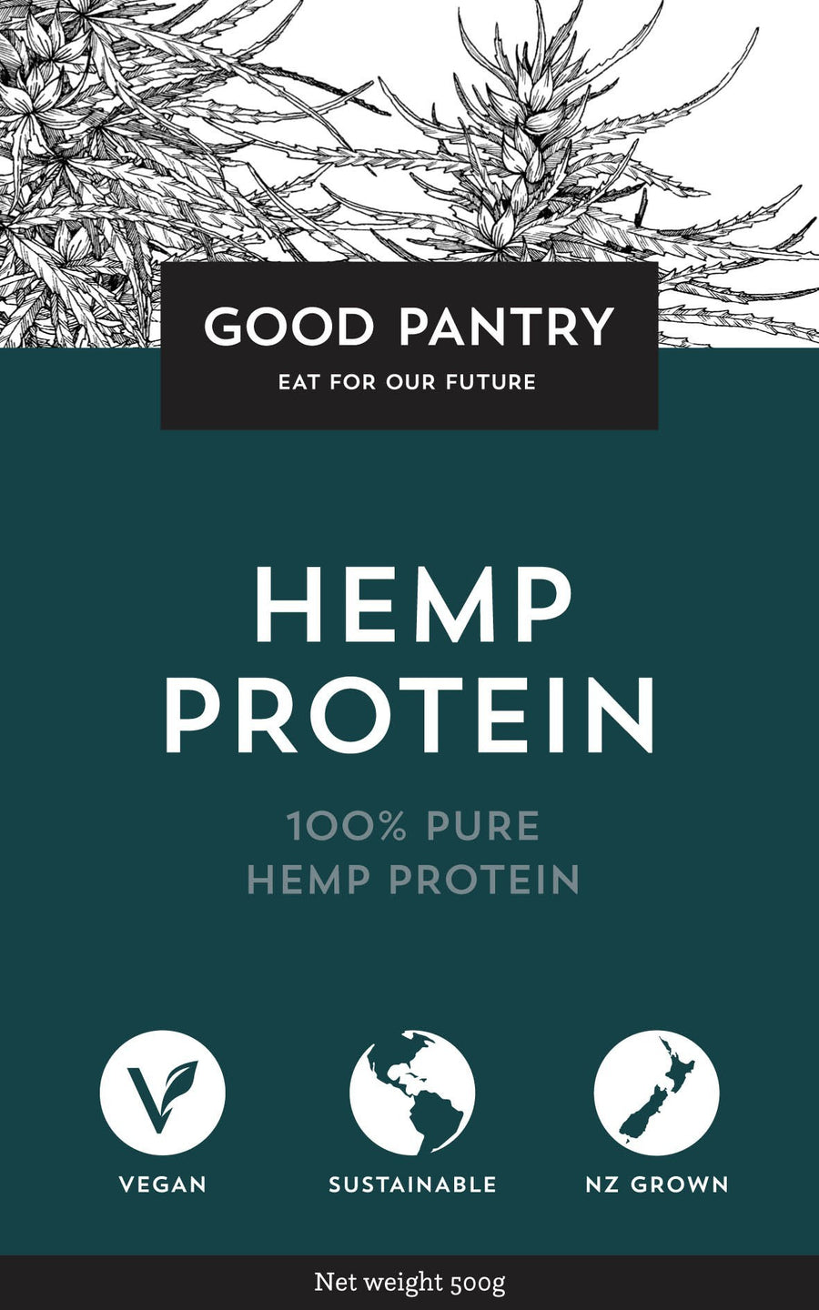 Good Pantry Hemp Protein 400g