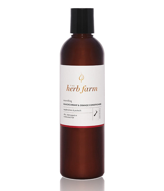 Herb Farm Nourishing blackcurrent & orange conditioner 250ml