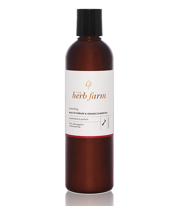 Herb Farm Nourish blackcurrent & orange shampoo 250ml