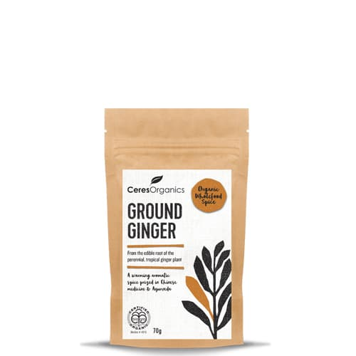 CERES organic ground Ginger 70g