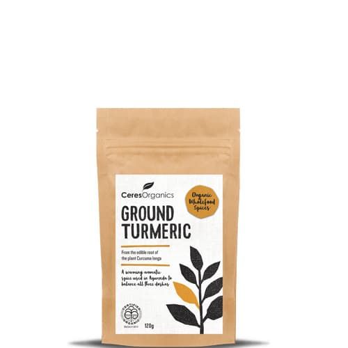 CERES organic ground Turmeric 120gm