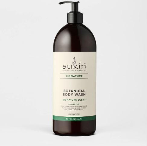 SUKIN BOTANICAL BODY WASH PUMP 1L