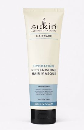SUKIN Replenish Hair Masque Tube 200ml
