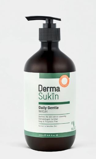 SUKIN DERMA GENTLE DAILY FACE AND BODY WASH 500ml