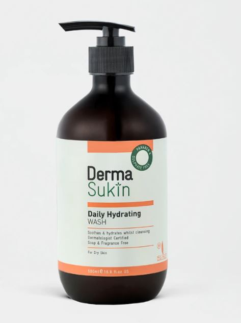 SUKIN DERMA HYDRATING WASH 250ml
