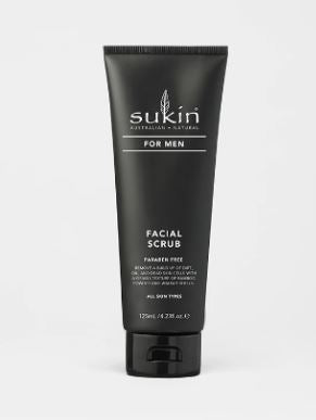 SUKIN Men Facial Scrub 125ml