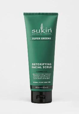 SUKIN Super Greens Detox Face Scrub 125ml