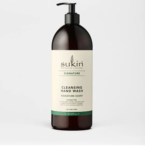 SUKIN CLEANSING HAND WASH 1L
