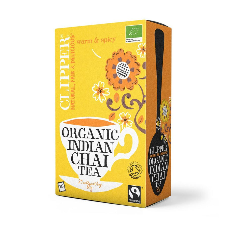 Clipper Herbal Tea Indian Chai 20 Bags - Organic