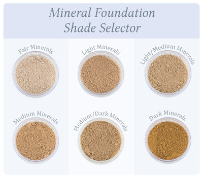 Dusty Girls Mineral Foundation Powder - Fair 10g SPF 15
