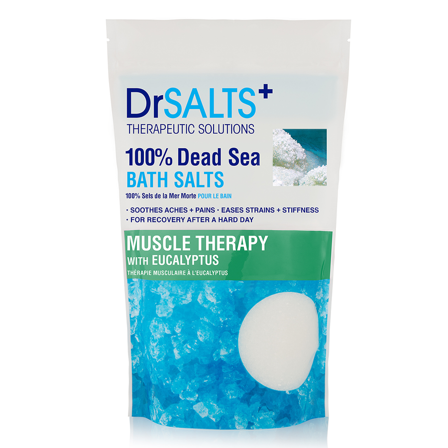 DR SALTS+ Bath Salt - Muscle Therapy - 100% Dead Sea  1kg