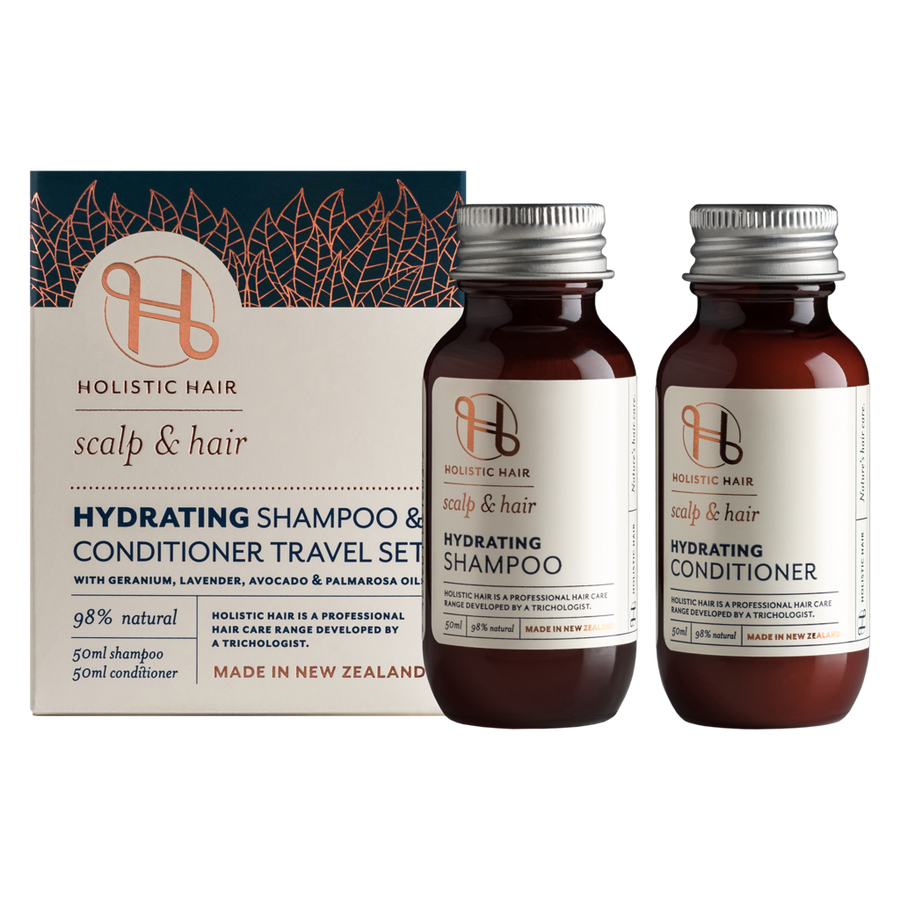 HOLISTIC HAIR Hydrating Travel Pack 2x50ml
