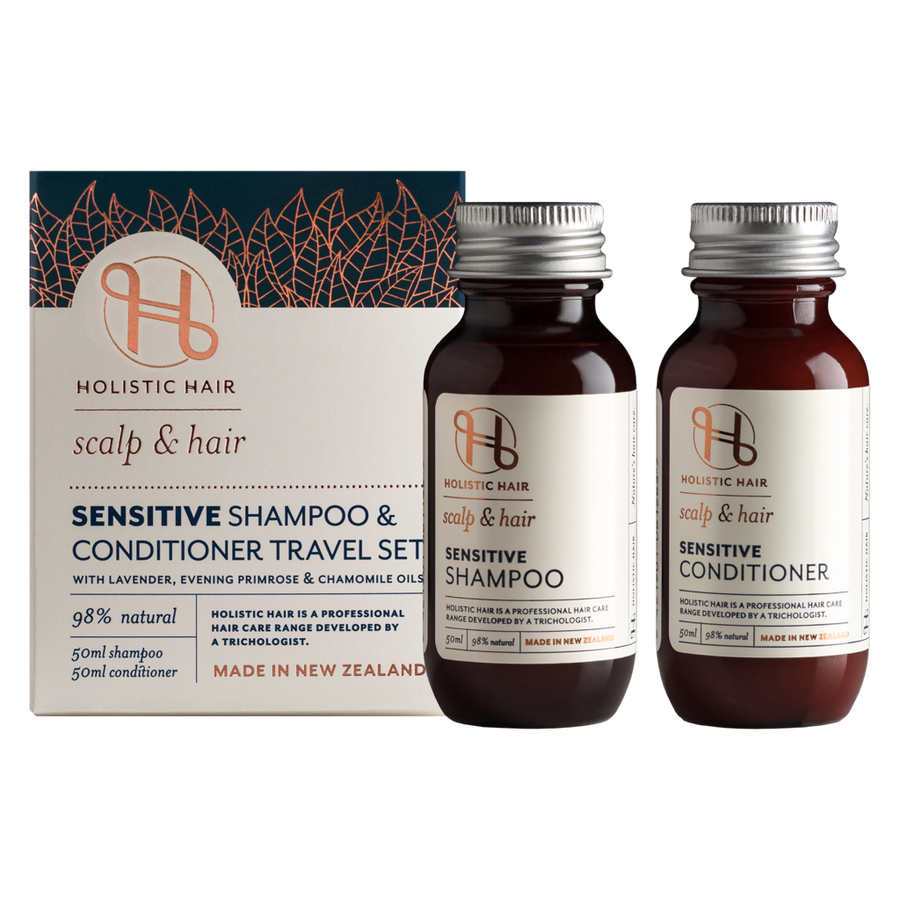 HOLISTIC HAIR Sensitive Shampoo & Conditioner Travel Pack 2x50ml