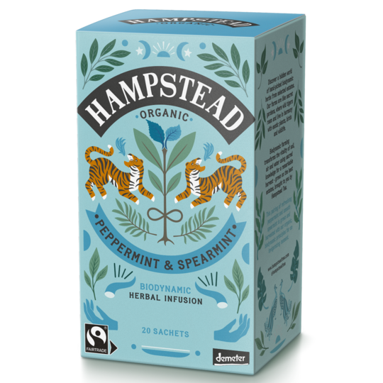 Hampstead Tea Peppermint Spearmint 20 bag