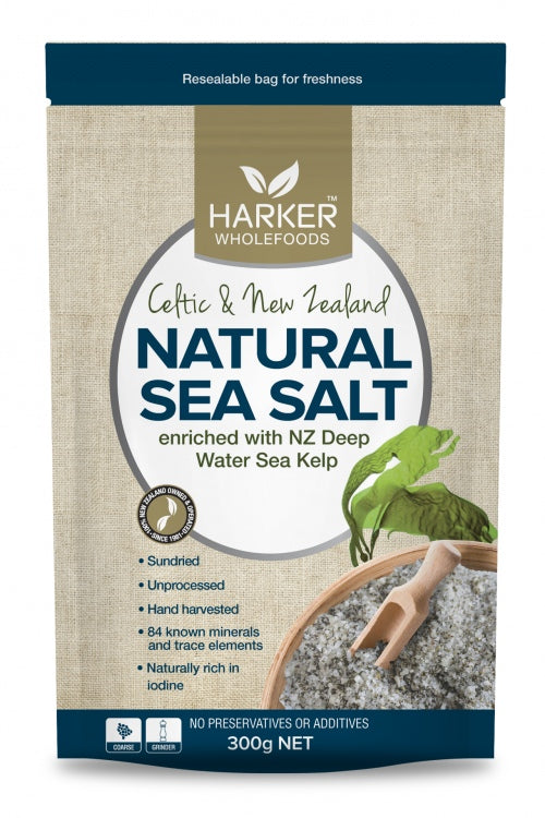 Harker Herbals Celtic & NZ Sea salt + Kelp 500g