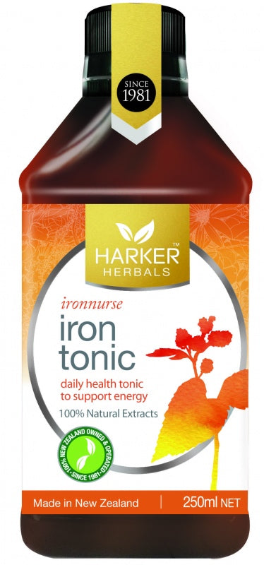 Harker Herbals Iron Tonic 250ml