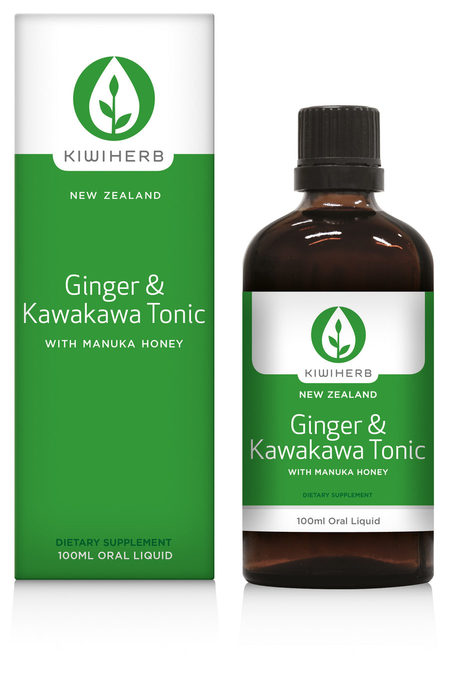 KIWI HERB Ging&Kawakawa Tonic 100ml