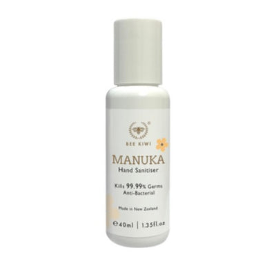 Nature's Beauty Bee Kiwi Manuka Hand Sanitiser 40ml