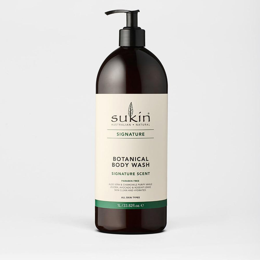 SUKIN BOTANICAL BODY WASH (R) 1L