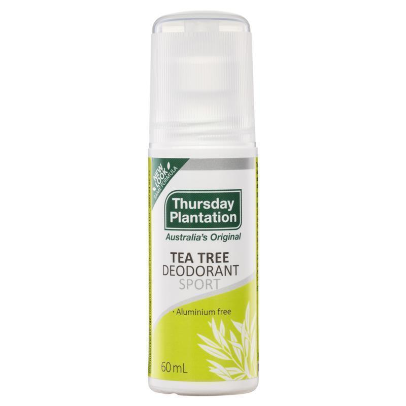 Thursday Plantatin Tea Tree Deodorant Sport  60ml