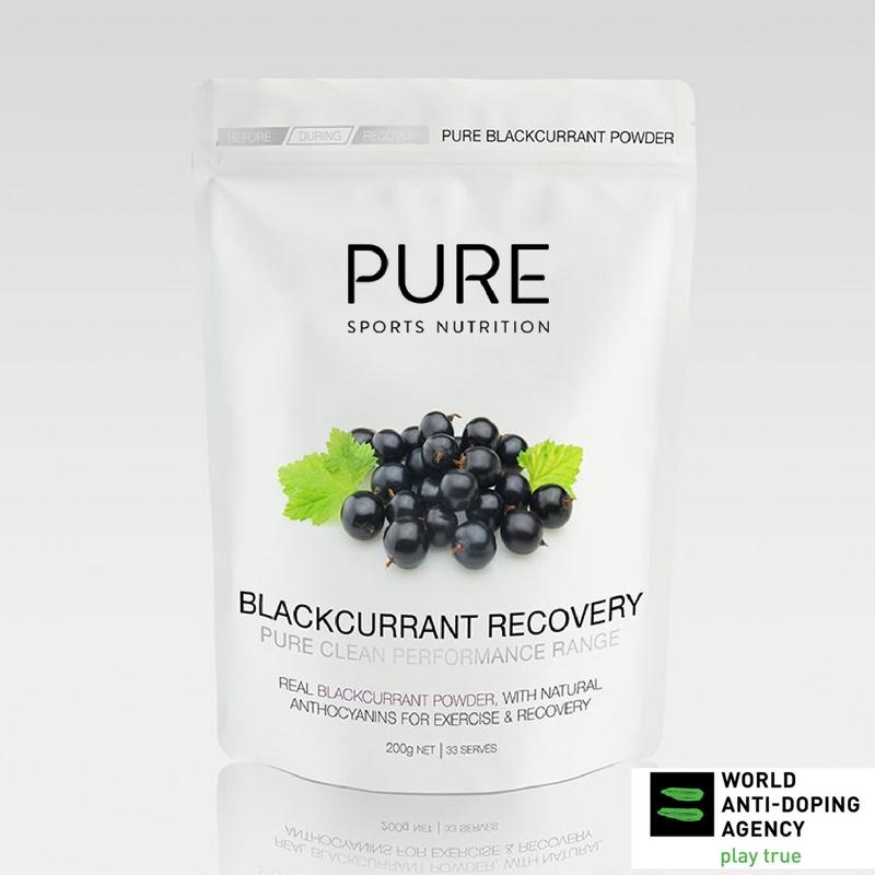 PURE SN Blackcurrant Recovery 200g