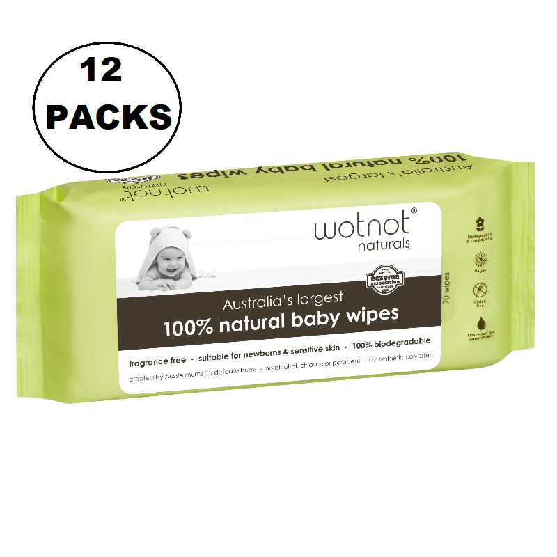 WOTNOT Baby Wipes 70