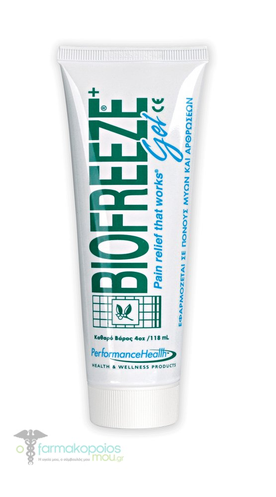 BIOFREEZE  GEL  118ml  tube