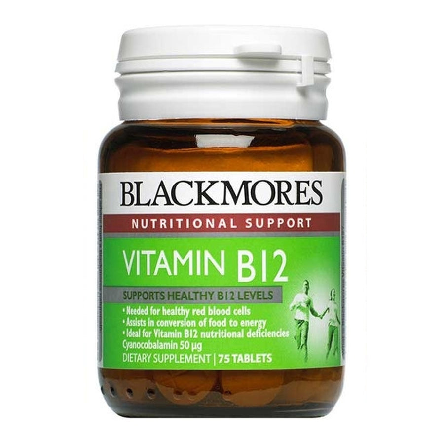Blackmores Vitamin B12 50mcg 75 tablets