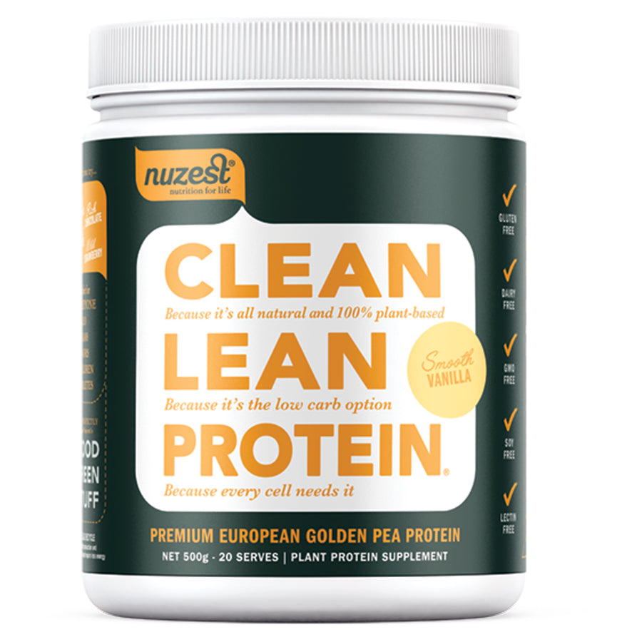 Clean Lean Protein Smooth Vanilla 500g