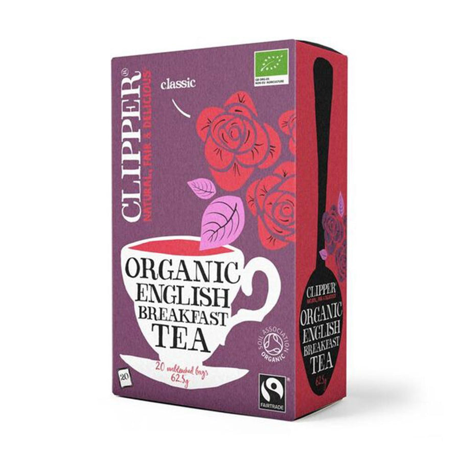 Clipper Herbal Tea English Breakfast 20 Bags - Organic