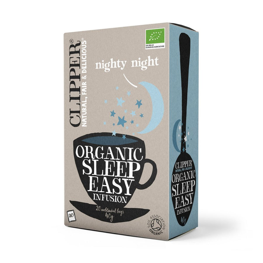 Clipper Herbal Tea  Sleep Easy Infusion 20 Bags - Organic