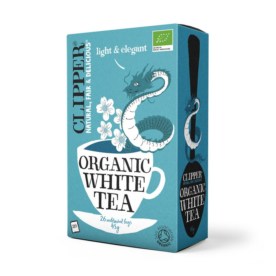 Clipper Herbal Tea White Tea 26 Bags - Organic