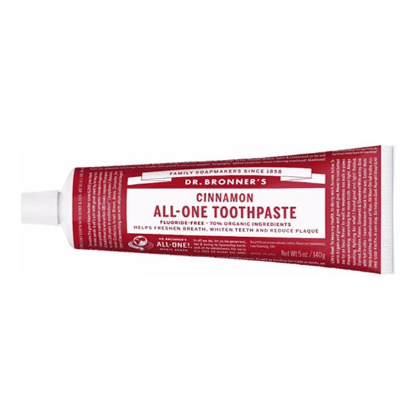 DR BRONNER Cinnamon Toothpaste 140g