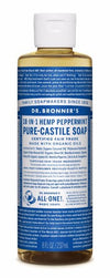 DR BRONNER PEPPERMINT LIQUID SOAP 236ml