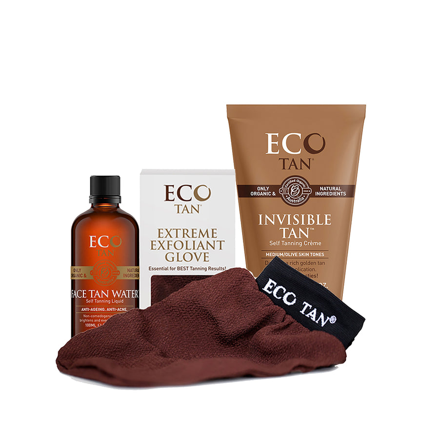 Eco Tan Gift Pack Glow InvTan/FT