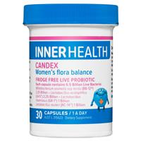 Inner Health Candex - Womens Flora Balance 30 capsules