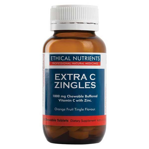 Ethical Nutrients Extra C Zingles Berry 50 Chewable tablets