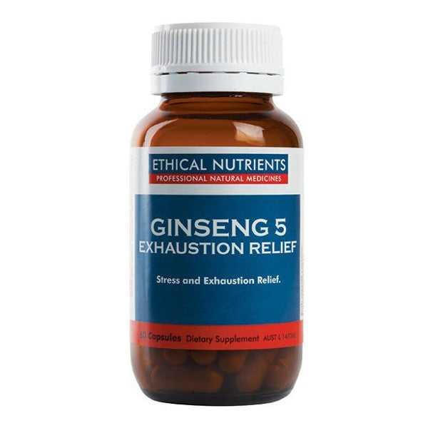 Ethical Nutrients Ginseng-5 Exhaustion Relief 60 capsules