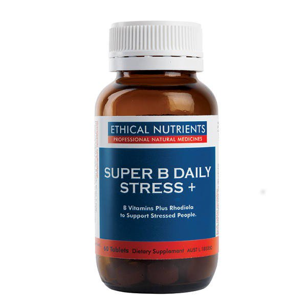 Ethical Nutrients Super B Daily Stress+ 30 tablets