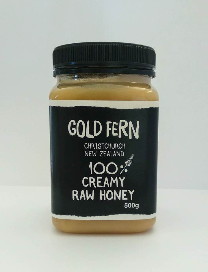 Gold Fern Honey Creamy 100% RAW 500g