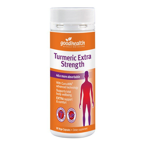 Good Health Turmeric Extra Strength 60 caps