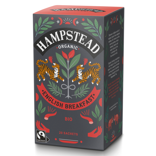 Hampstead Tea English Breakfast 20 bag