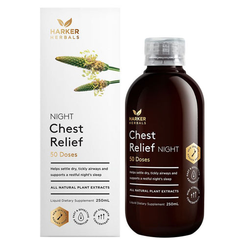 Harker Herbals Chest Relief Night 250ml
