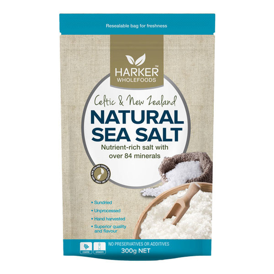 Harker Herbals Celtic & NZ Sea salt +Kelp 300g