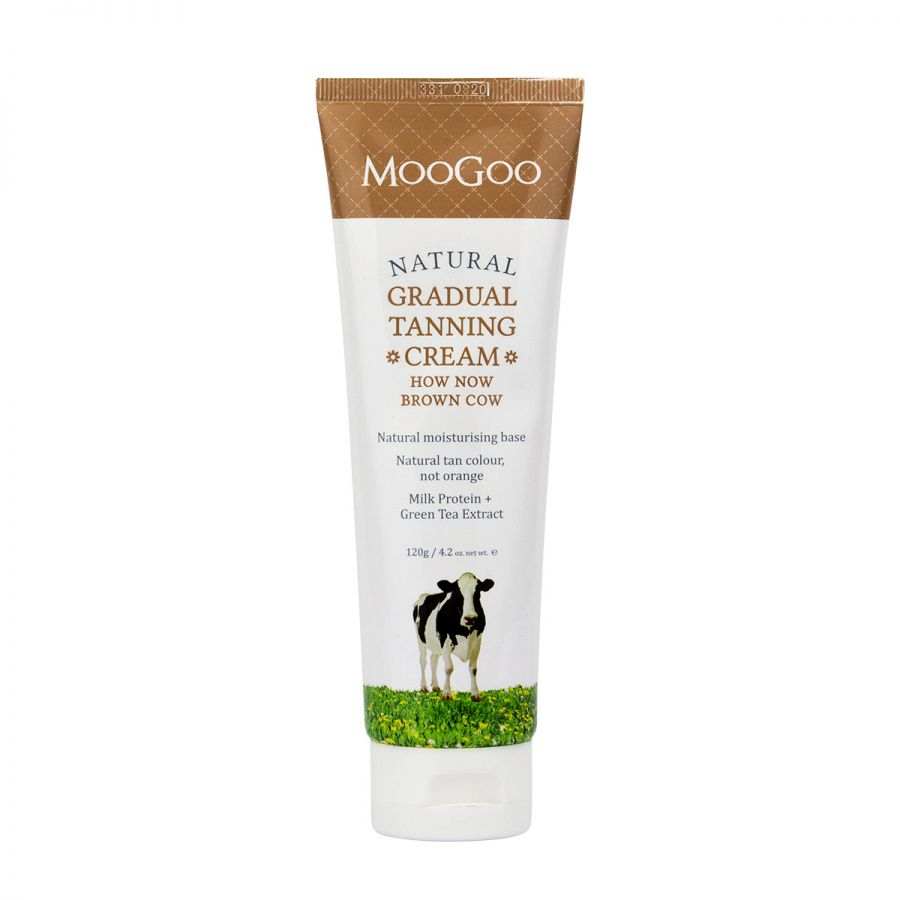 MOOGOO How Now Brown Cow Tan Cream 120g
