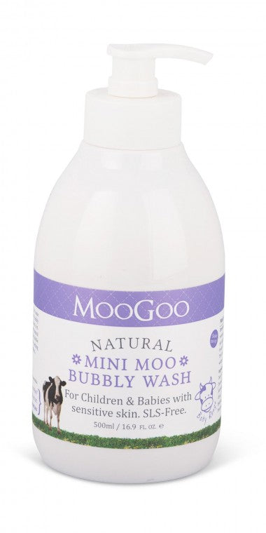 MOOGOO Nat Mini Moo Bbl Wash 500ml