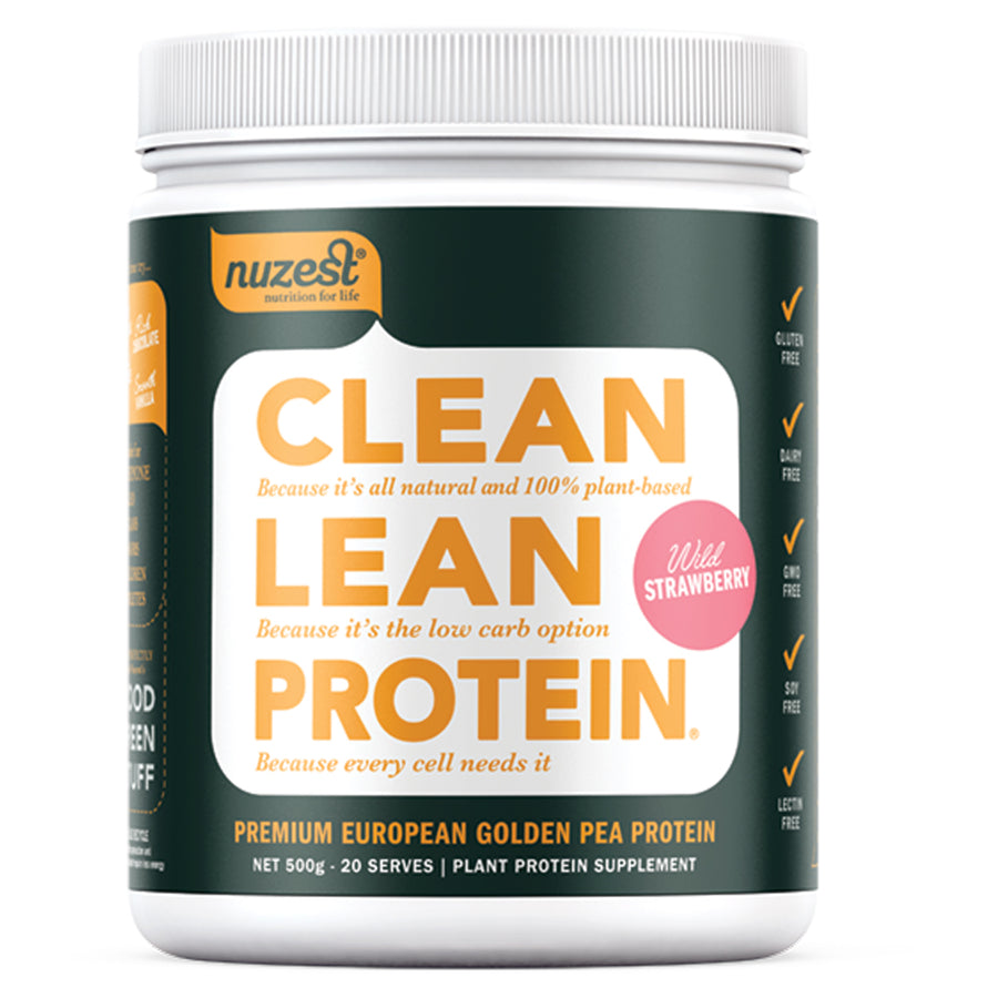 Clean Lean Protein Strawberry 500g